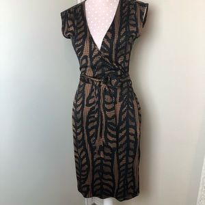 Tory Burch wrap dress midi